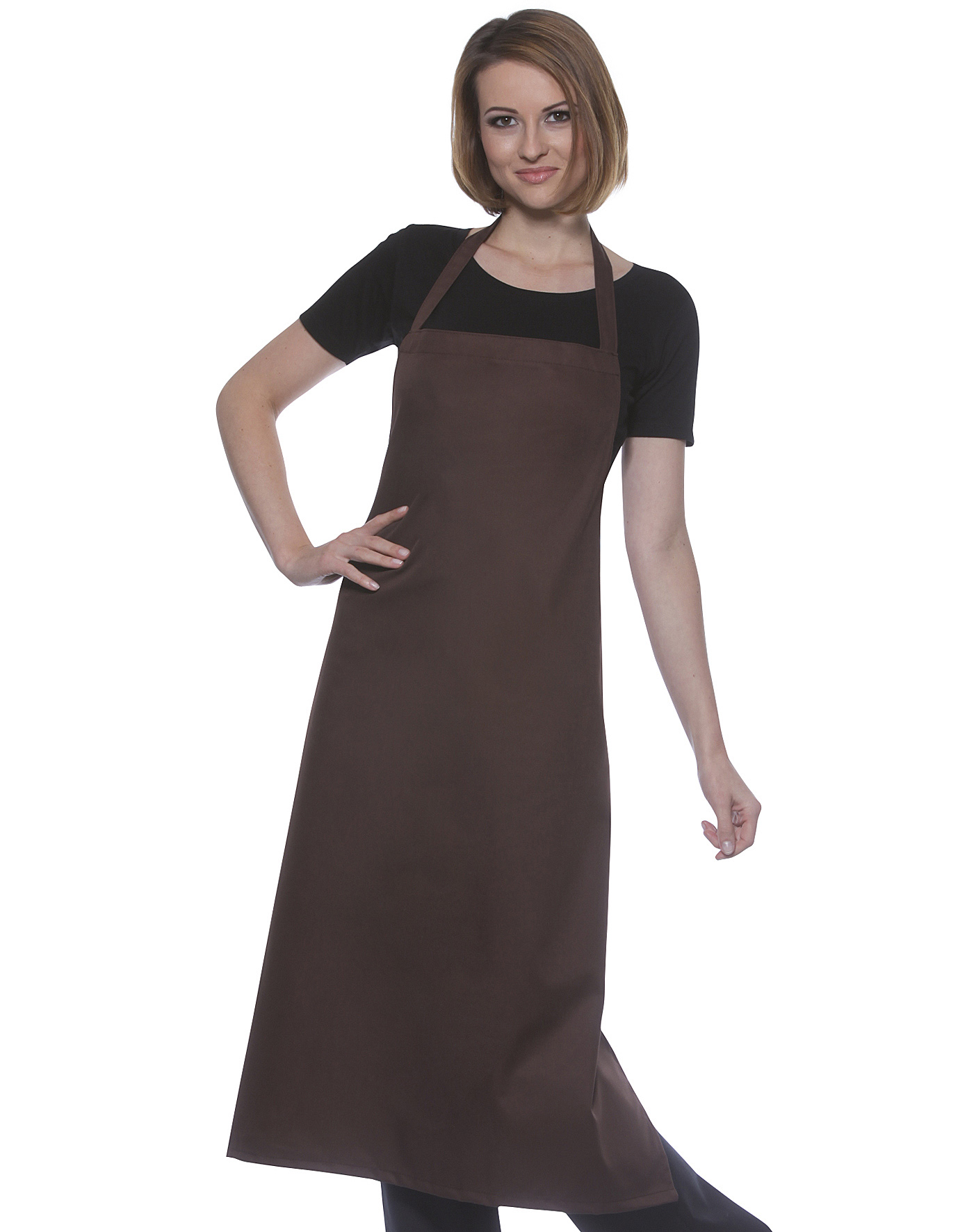 Sort Lung Pinafore Karl BLS-3